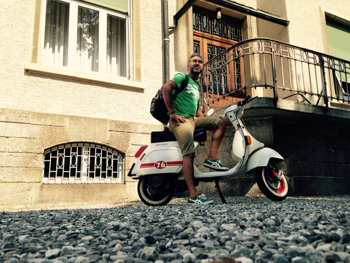 By by Vespa...  last photo