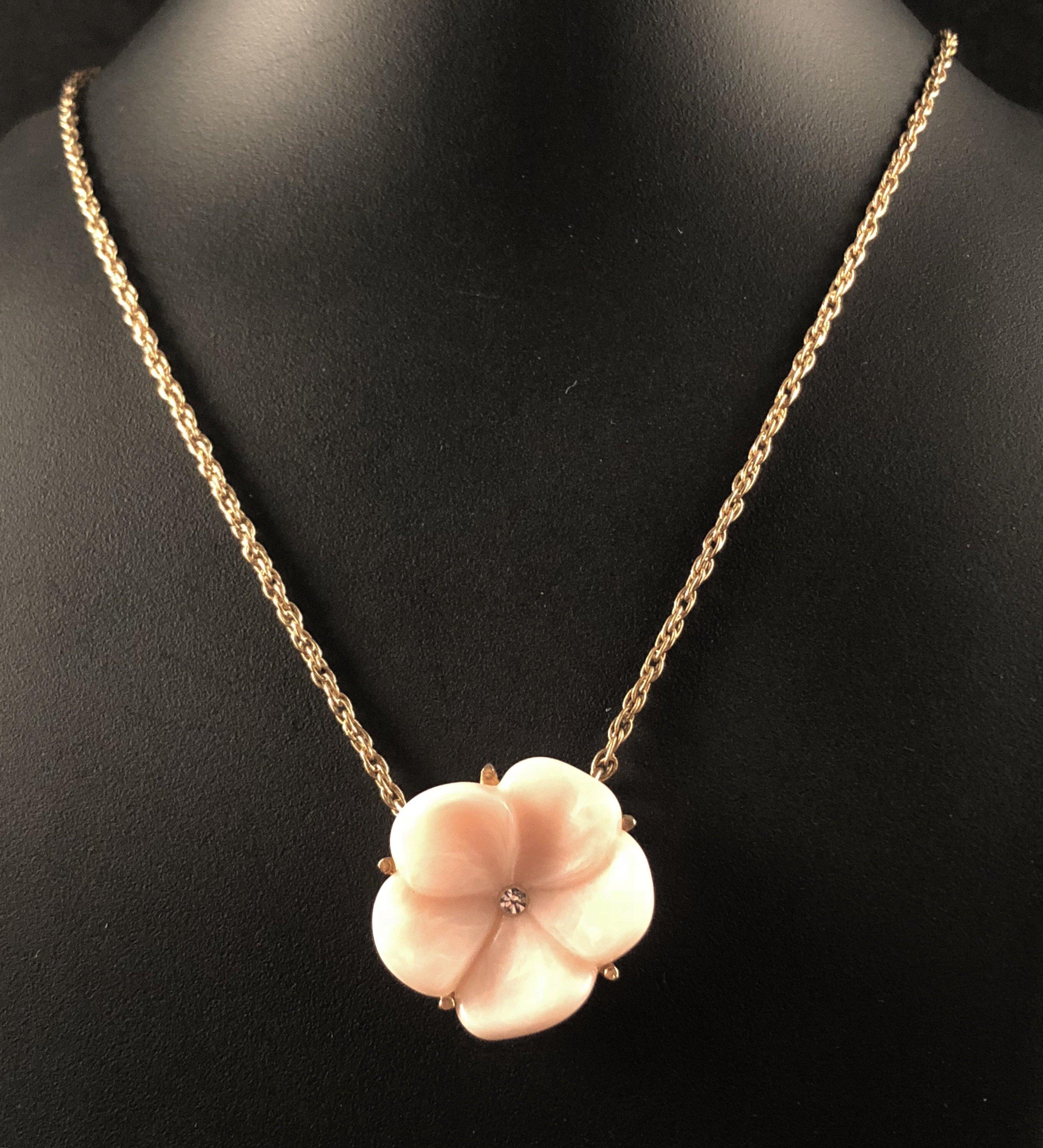 1978 avon lotus blossom necklace in 2020 lotus blossom