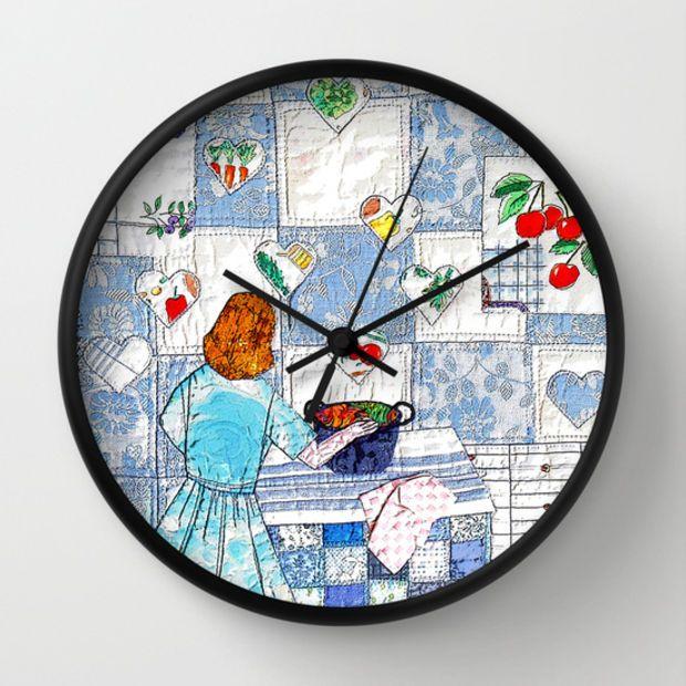 Fresh Art Glass Wall Clocks