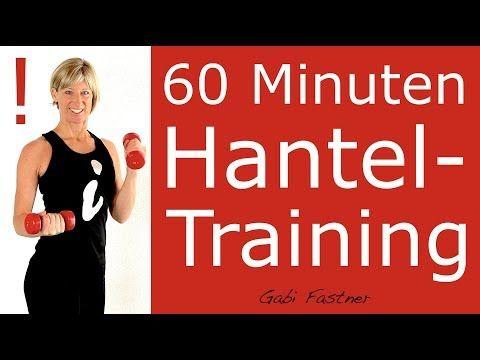 �60 min. intensives Ganzkörper-Figur-Workout mit oder ohne Hanteln für 2020 in HD