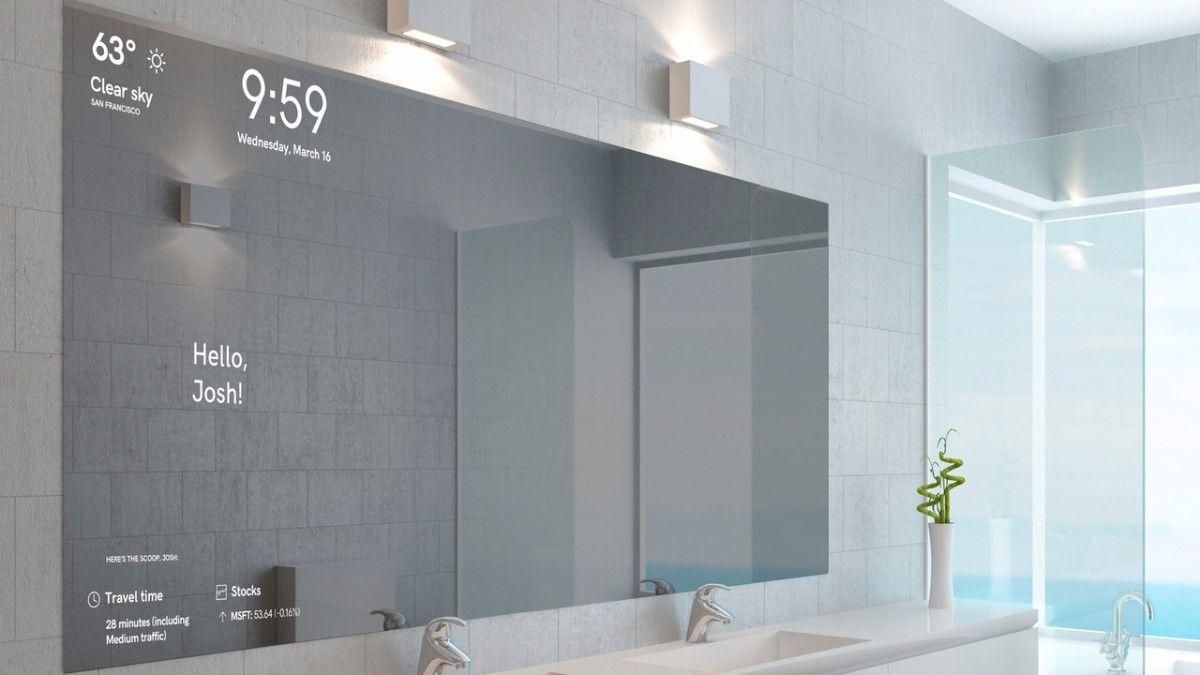 Magic Mirror Dieser Smarte Spiegel Erkennt Euer Gesicht Und Zeigt Personalisierte Informationen An T3n Digital Pioneers Smart Spiegel Spiegel Handgemachte Spiegel