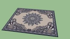 3D Model of classic carpet