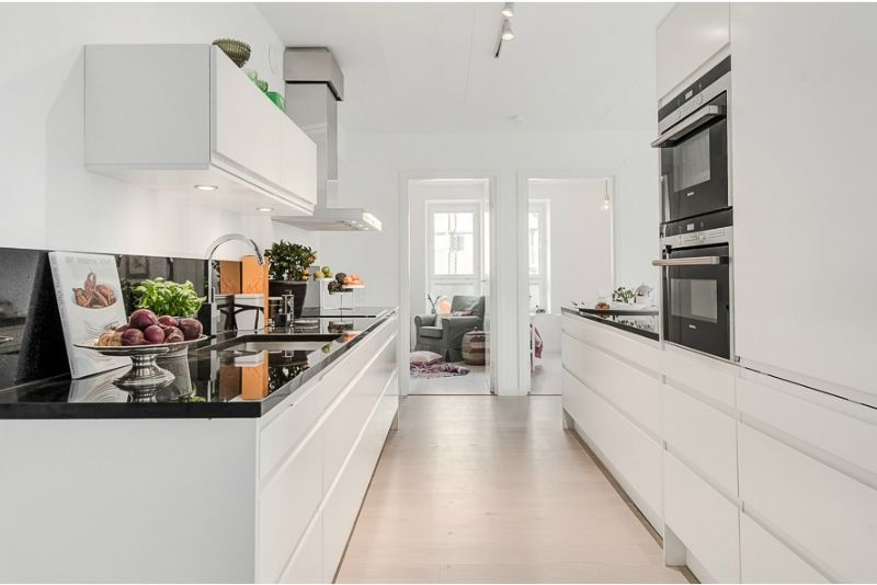 White Interior Pinched With Color   Pinterest   Pure white ...