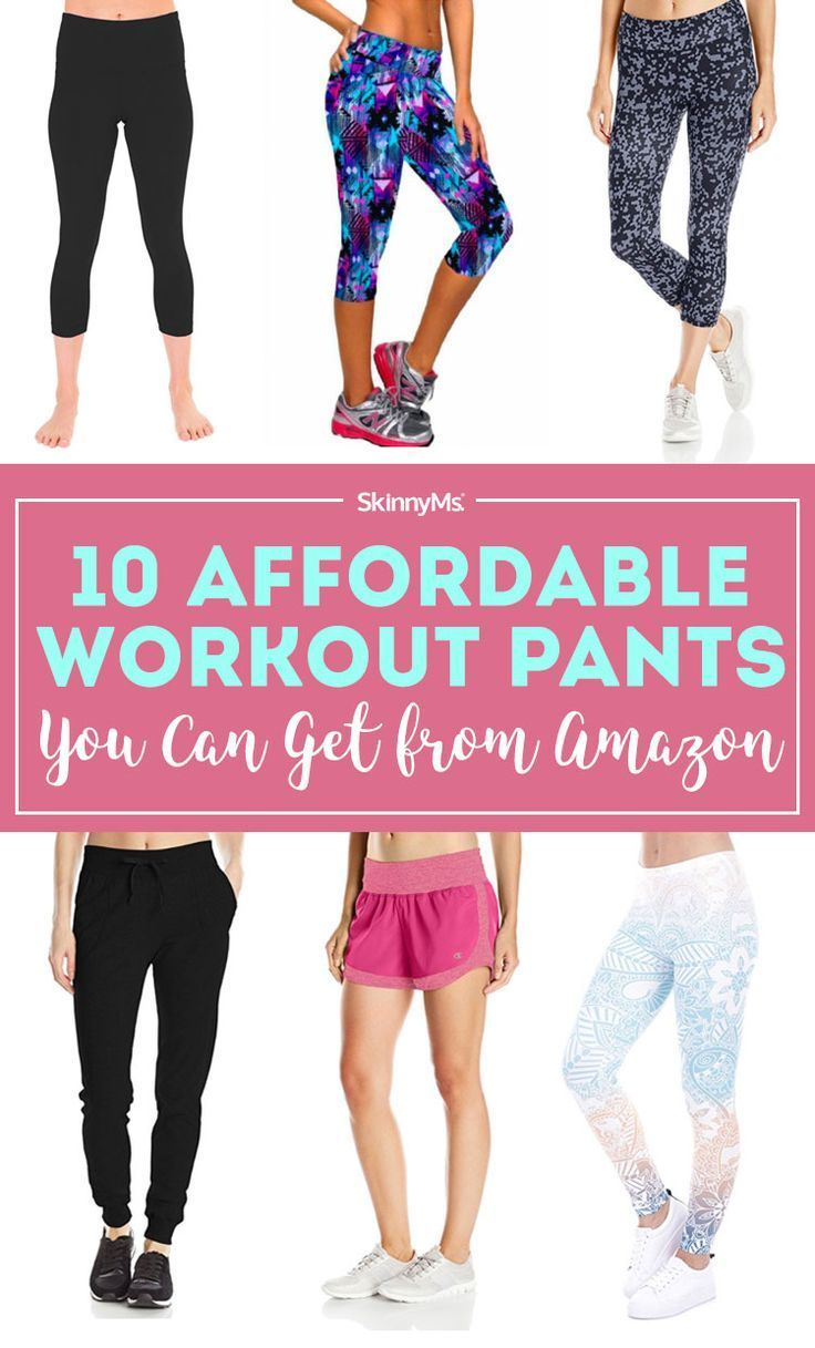10 Affordable Workout Pants You Can Get from Amazon (With