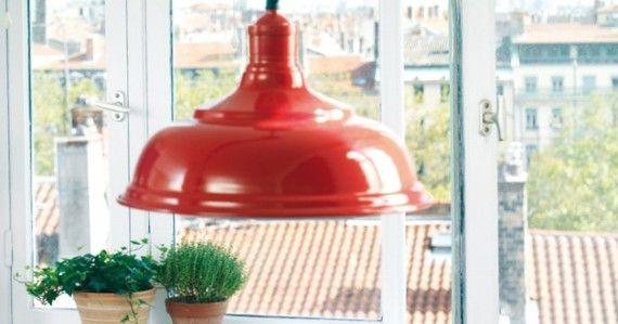 suspension style bistrot cuisine rouge boutique comptoir de famille d coration cuisine bistrot