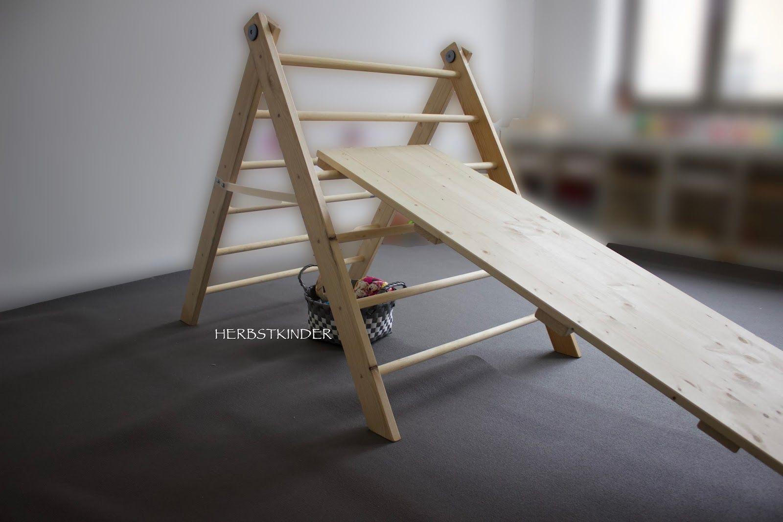 Kletterdreieck Bauen : Diy kletterdreieck herbstkinder pinterest