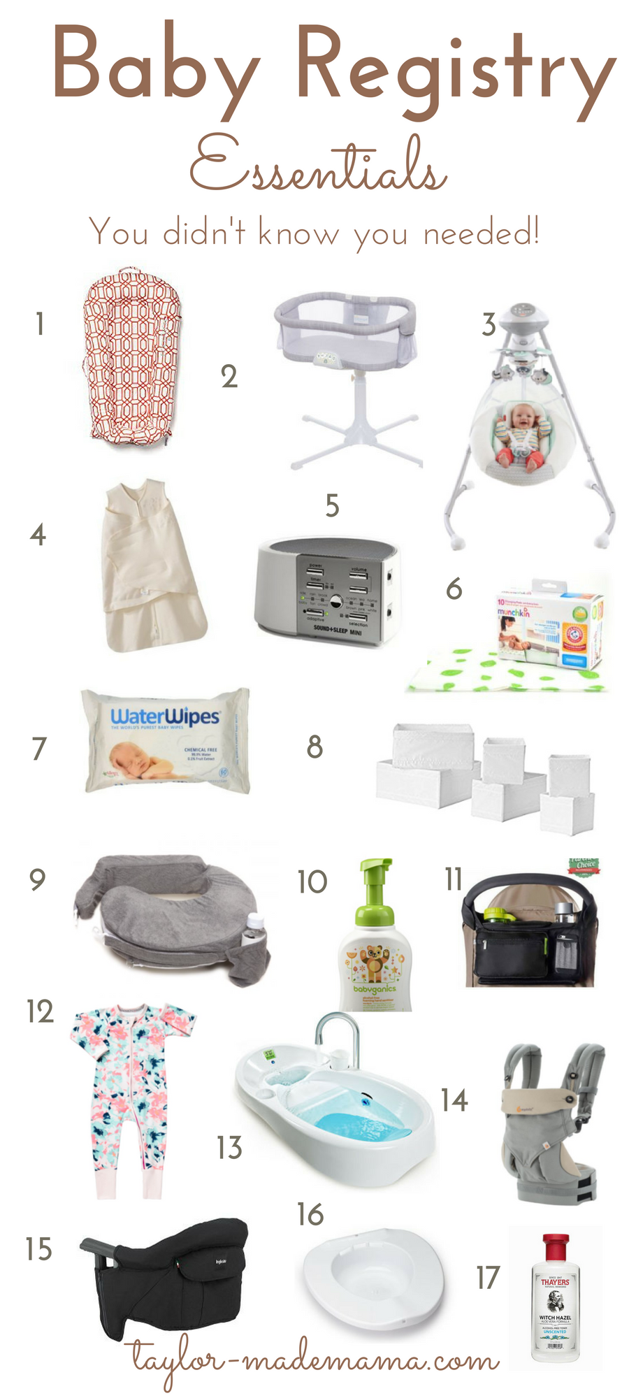 Baby Registry Essentials None Of The Stuff You Won T Need Baby Registry Essentials Baby Registry List Baby Registry