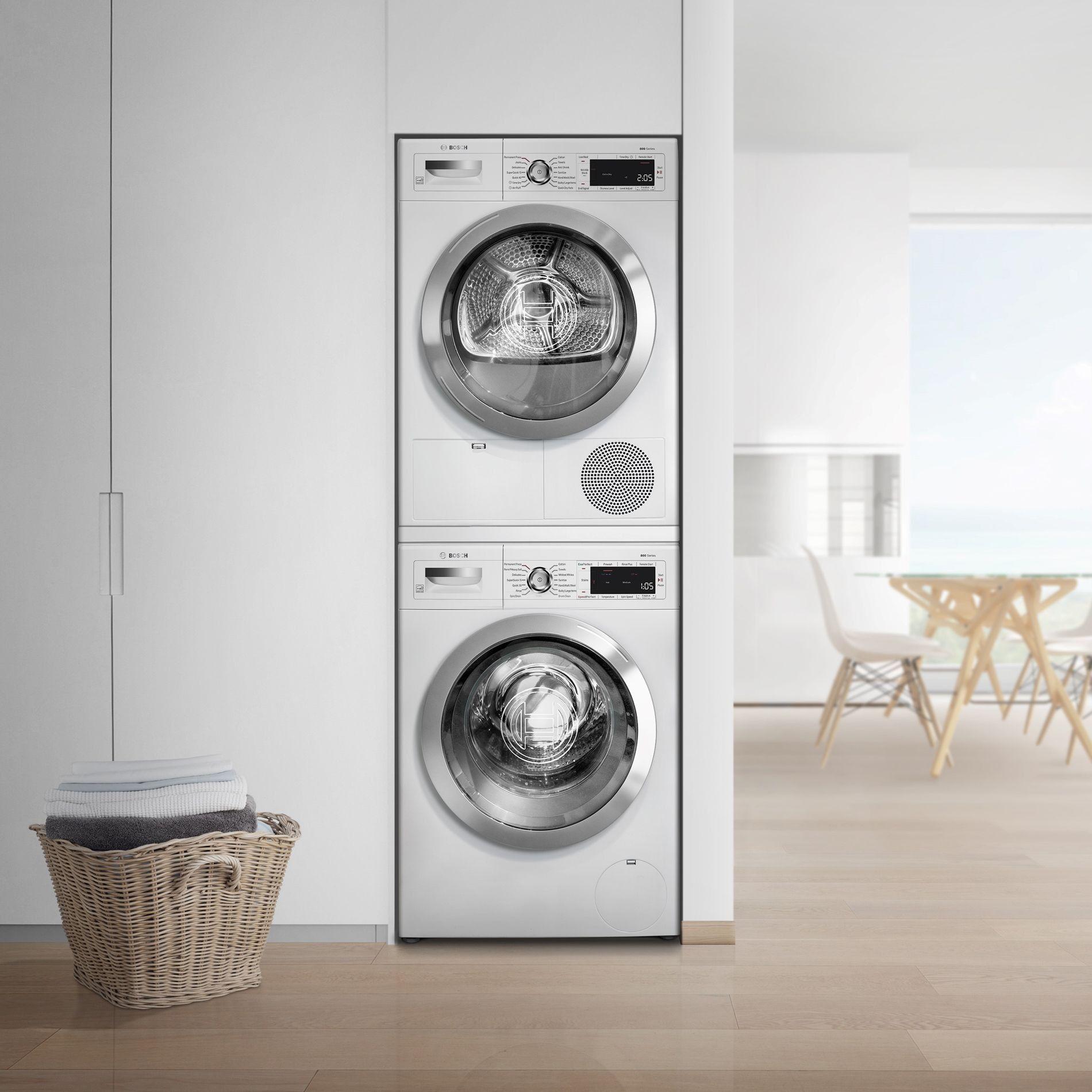 Bosch 800 Series Bowadrew868 Washer Dryer Set Washer And Dryer