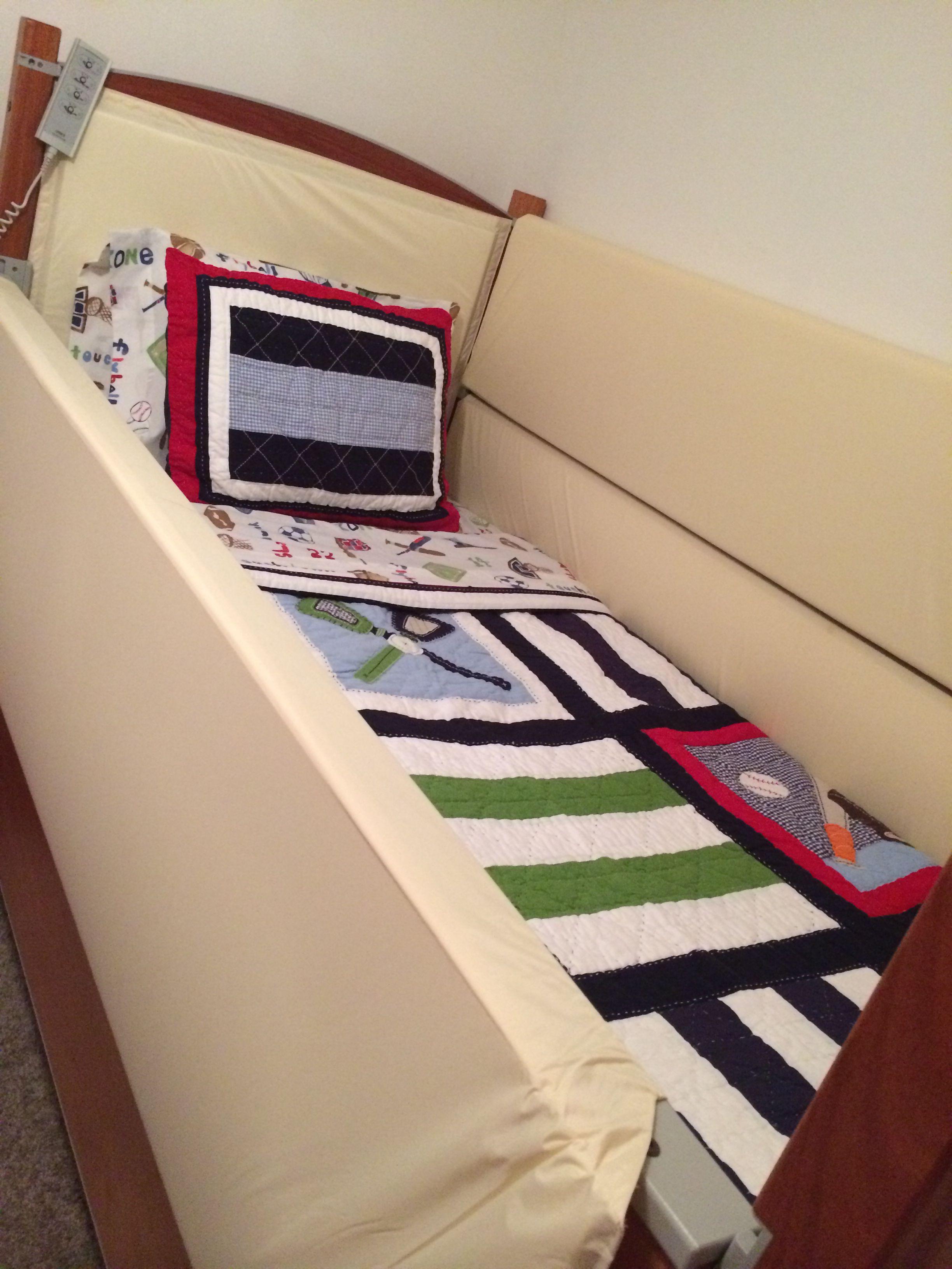 Pbk Jake Baseball Bedding Special Needs Sleep Safe Bed Special