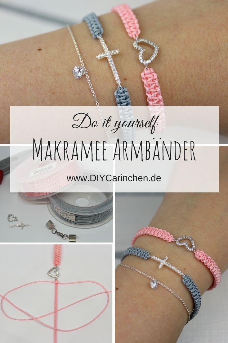 Photo of Machen Sie einfach DIY Makramee Armbänder selbst + detaillierte Anweisungen