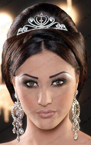 maquillage libanais oriental pour un mariage the exotic bride pinterest makeup hair. Black Bedroom Furniture Sets. Home Design Ideas