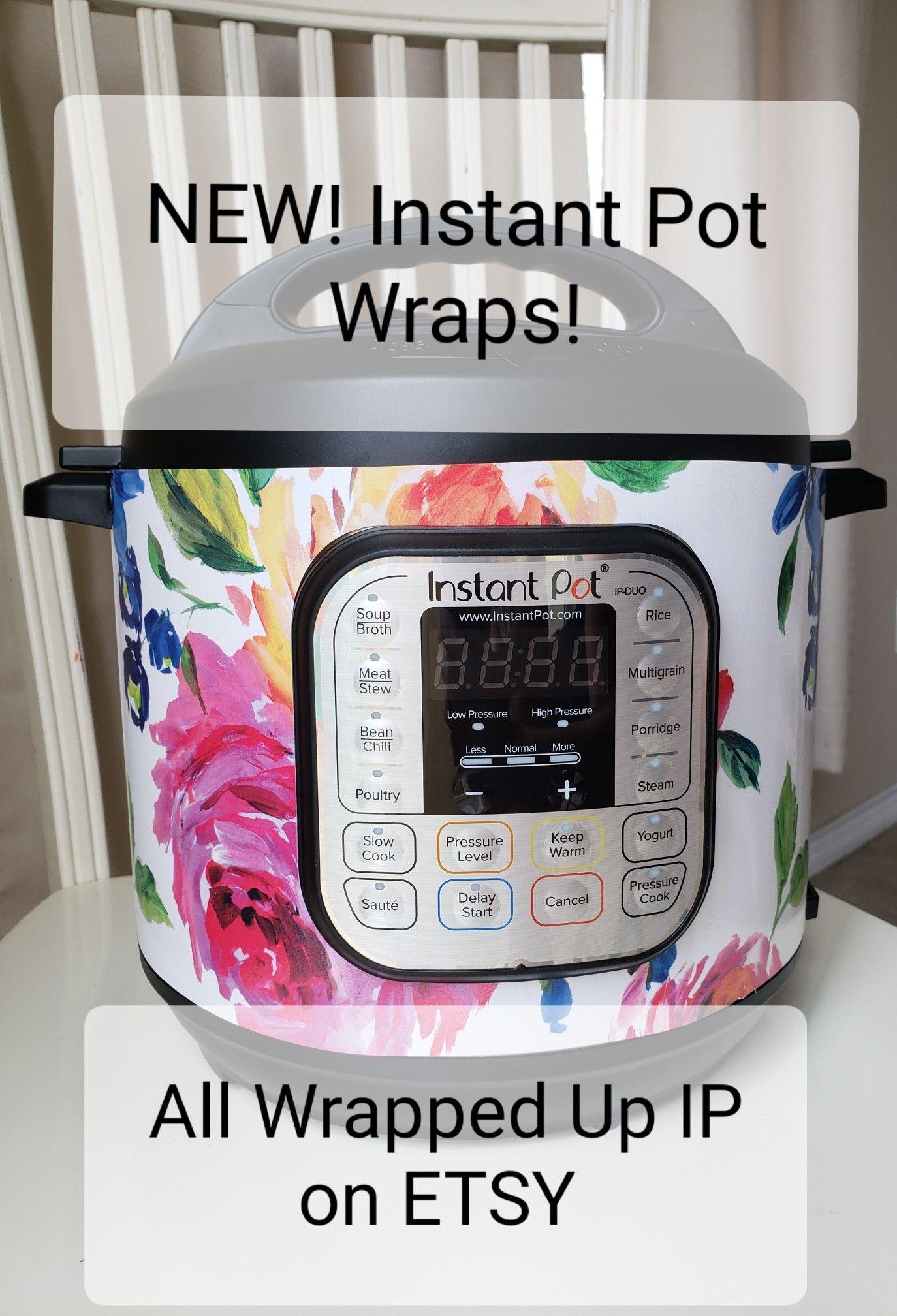 Instant Pot Wraps Bright Floral 6 Quart Duo Instant Pot Recipes Instant Pot Pot Recipes