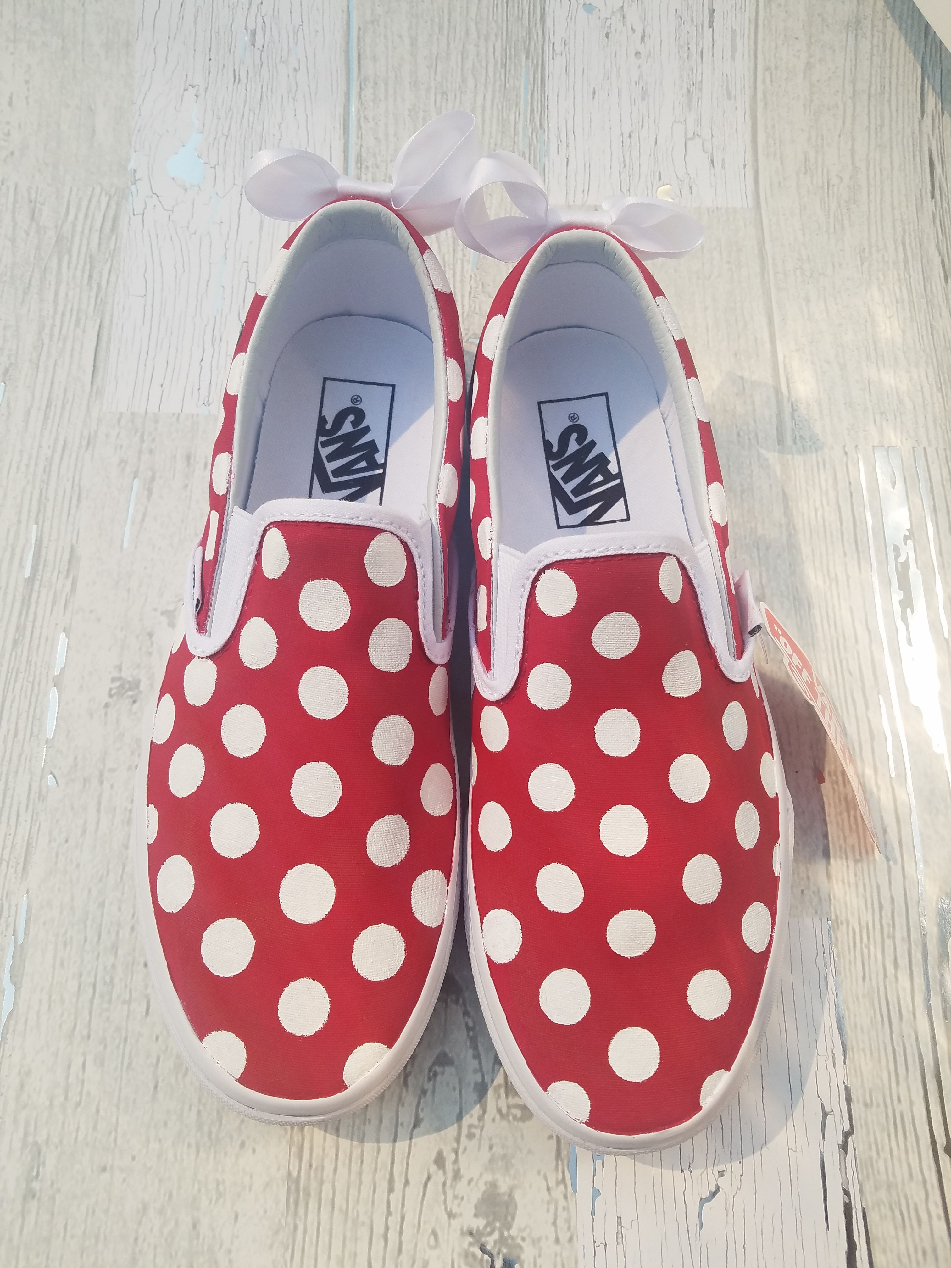 f37ebf9c693 Mommy and Me Polka Dotta Shoes Inspired by Minnie Mouse - Basics ...