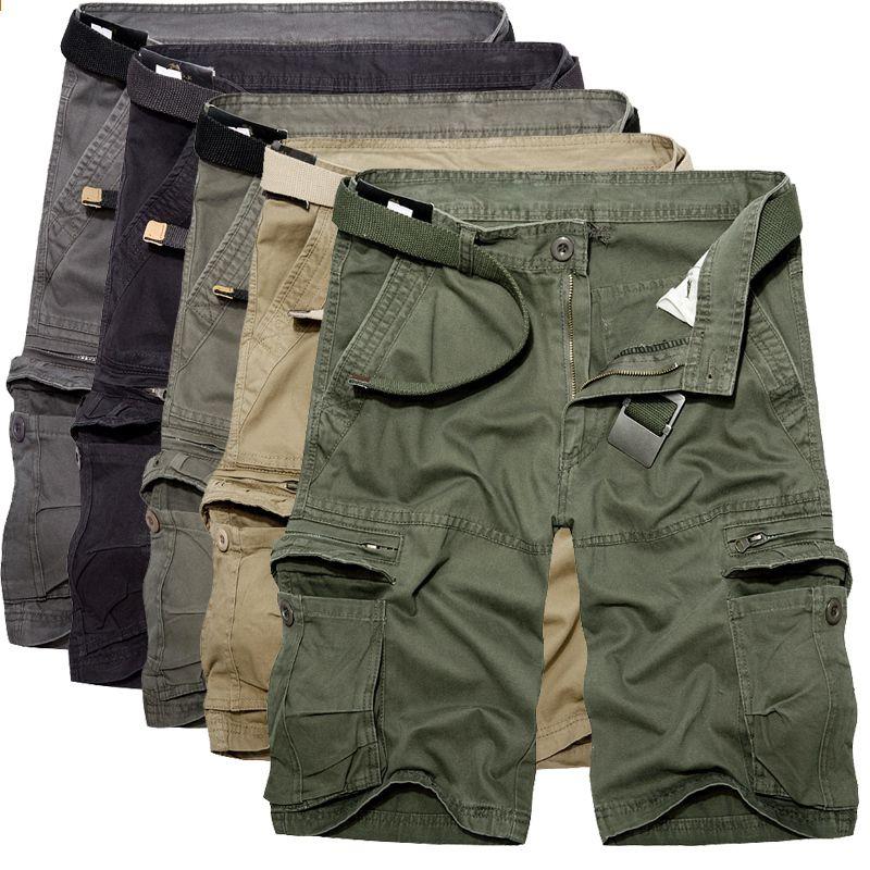 Korte Broek Grote Maat Heren.Nieuwe 2018 Merk Casual Camouflage Mannen Cargo Shorts Heren Grote