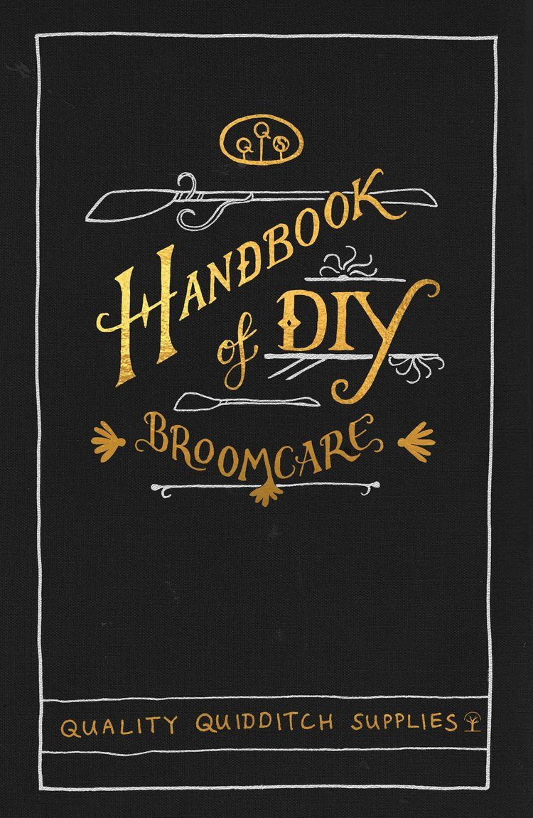 Harry potter book cover handbook of do it yourself broomcare by harry potter book cover handbook of do it yourself broomcare by quality quidditch supplies solutioingenieria Images