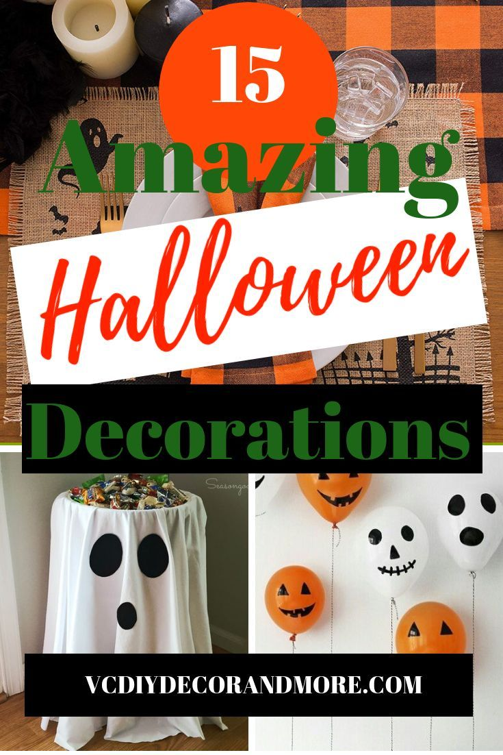 The best halloween decorations for the perfect halloween party