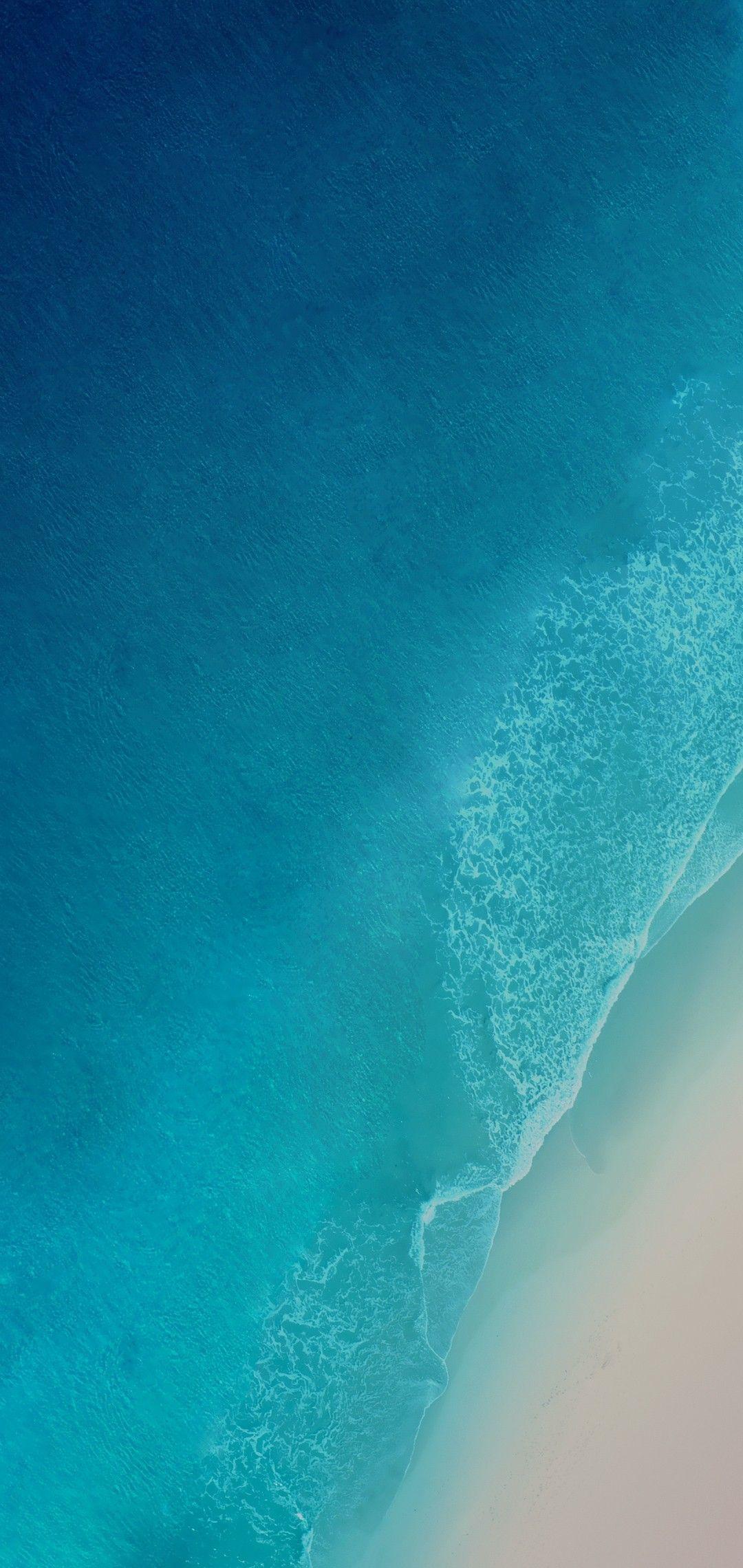Ios 12 Iphone X Aqua Blue Water Ocean Apple Wallpaper Iphone 8 Clean Beauty Colour Io Iphone Wallpaper Water Iphone Wallpaper Blue Wallpaper Iphone
