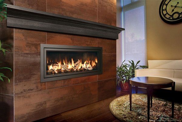 Modern indoor fireplace design ideas linear fireplace for Rumford fireplace insert
