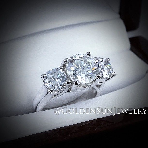 GOLDEN SUN JEWELRY: The simple things in life can sometimes be the prettiest. Designers of fine jewelry since 1988. #engagement #wedding #weddingring #engagementring #ring #precious #diamond #diamondring #flawless #fashionista #fashionista #designer #gorgeous #jewelry #bridal #bride #luxury #gia #photography #design #detroit