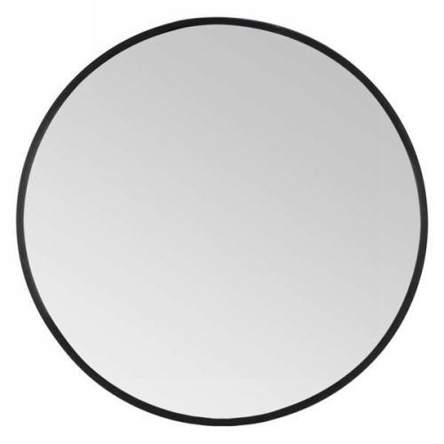 Grand miroir rond noir – H A U S Mode maison Scandinave
