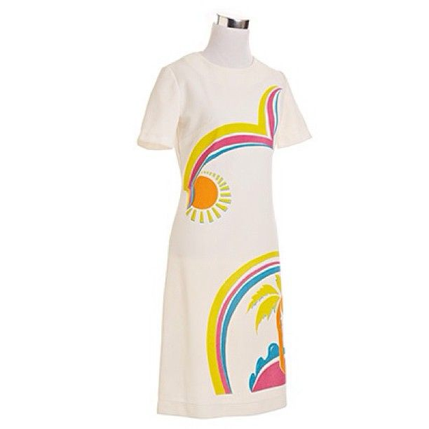 1960'S TROPICAL A-LINE DRESS