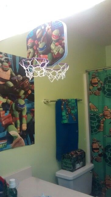 Ninja Turtles Bathroom