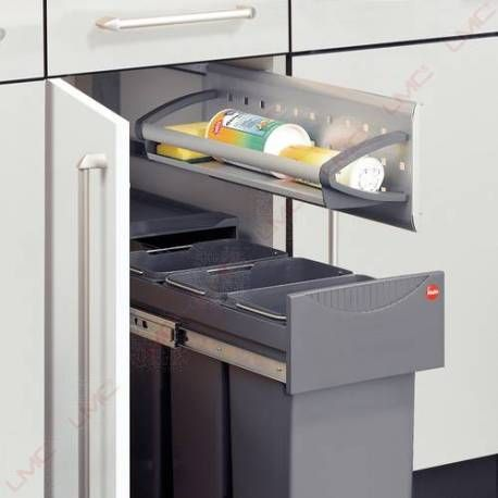 Porte eponges vario alu line am nagement coulissant for Amenagement etagere cuisine