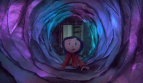 Small Door Tunnel Coraline Aesthetic Coraline Jones Coraline