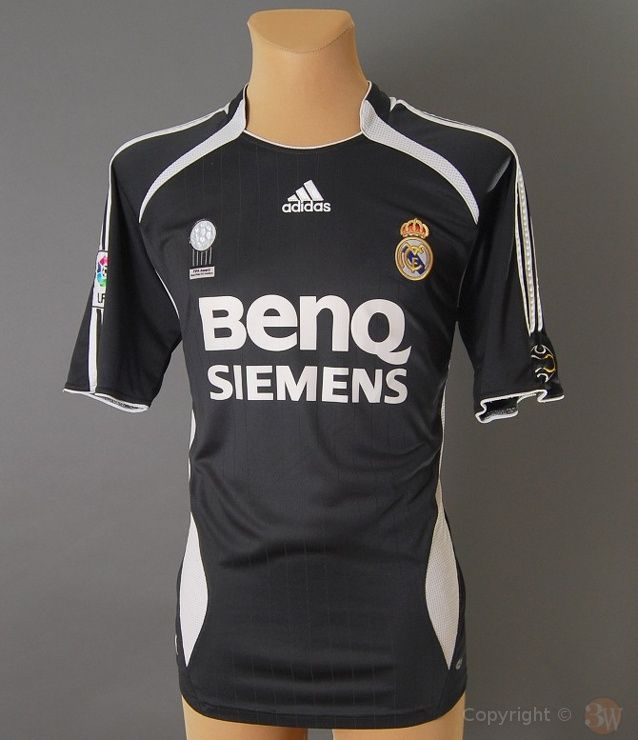 save off 33dd4 6d0d4 Real Madrid Away Kit for 2006/2007 season | REAL MADRID CF ...