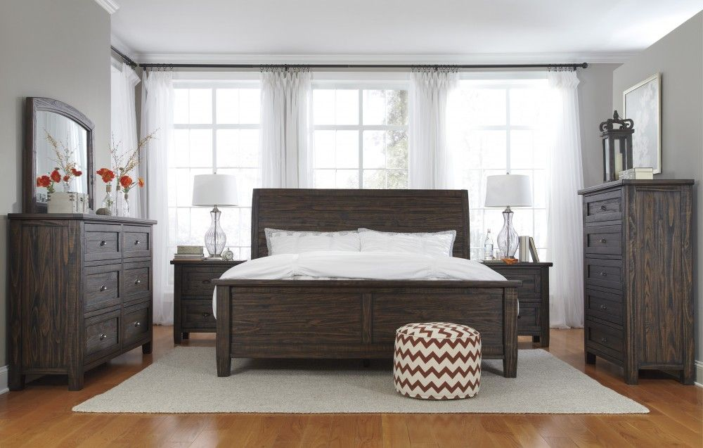 Trudell 5 Pcbedroom  Dresser Mirror & Queen Panel Bed Glamorous Ashley Bedroom Dressers Decorating Inspiration