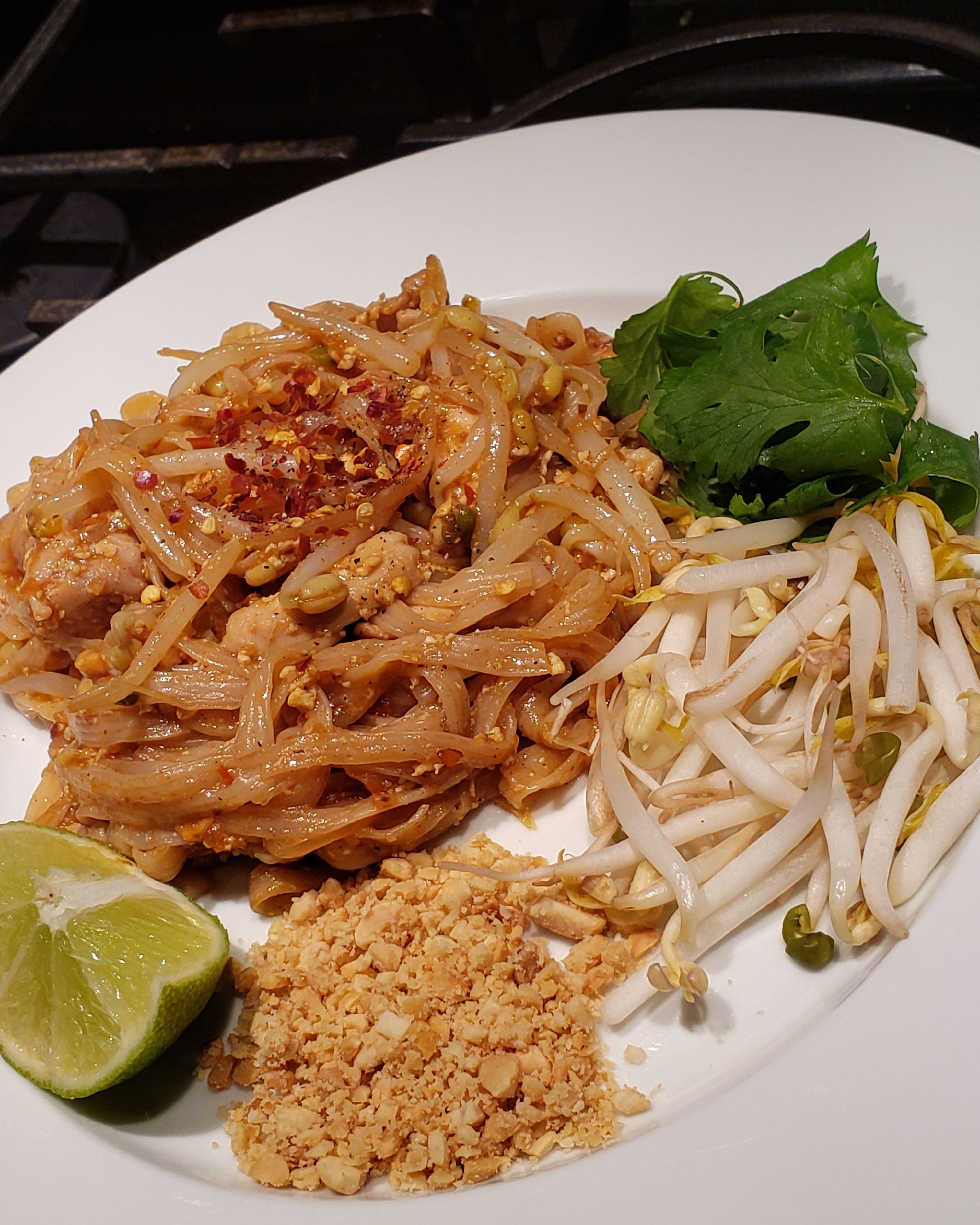 Keto friendly chicken pad thai keto chicken pad thai
