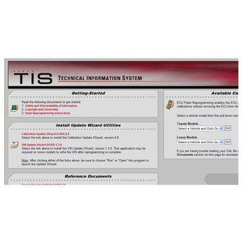 ECU Flash Reprogramming DVD For Toyota   Diagnostic Software