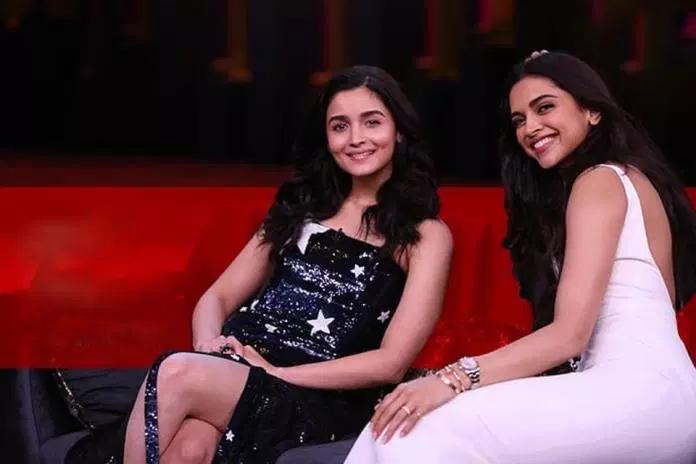 Tonight's Show Koffee With Karan: Alia Bhatt and Deepika ...