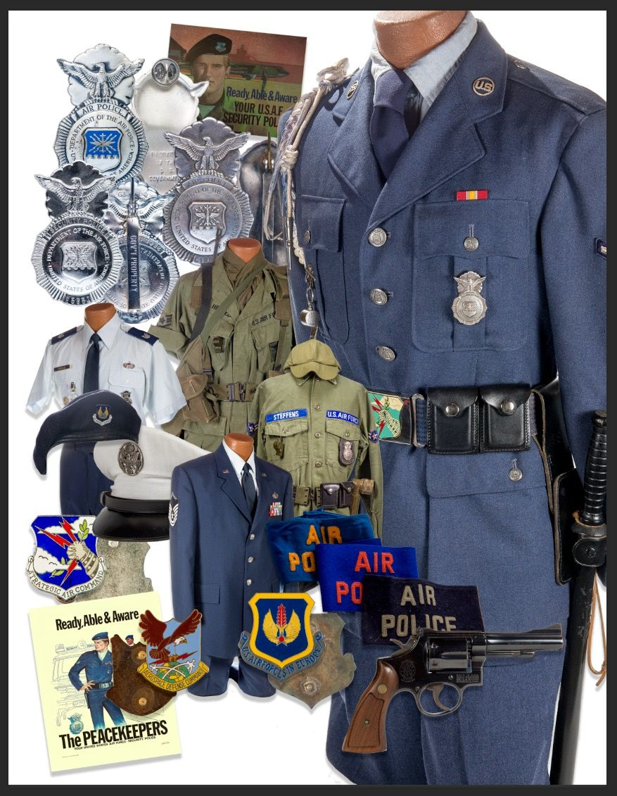 Usaf Air Police Uniforms And Accessories Strategic Air Command Air Force Patches Air Force Pararescue
