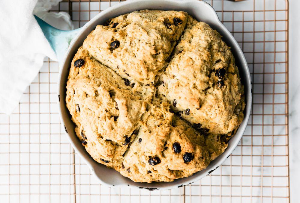 Easy Gluten Free Irish Soda Bread In 2020 Gluten Free Irish Soda Bread Soda Bread Irish Soda Bread Recipe