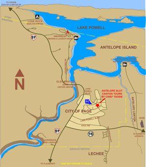 page arizona home of glen canyon antelope canyon and horseshoe