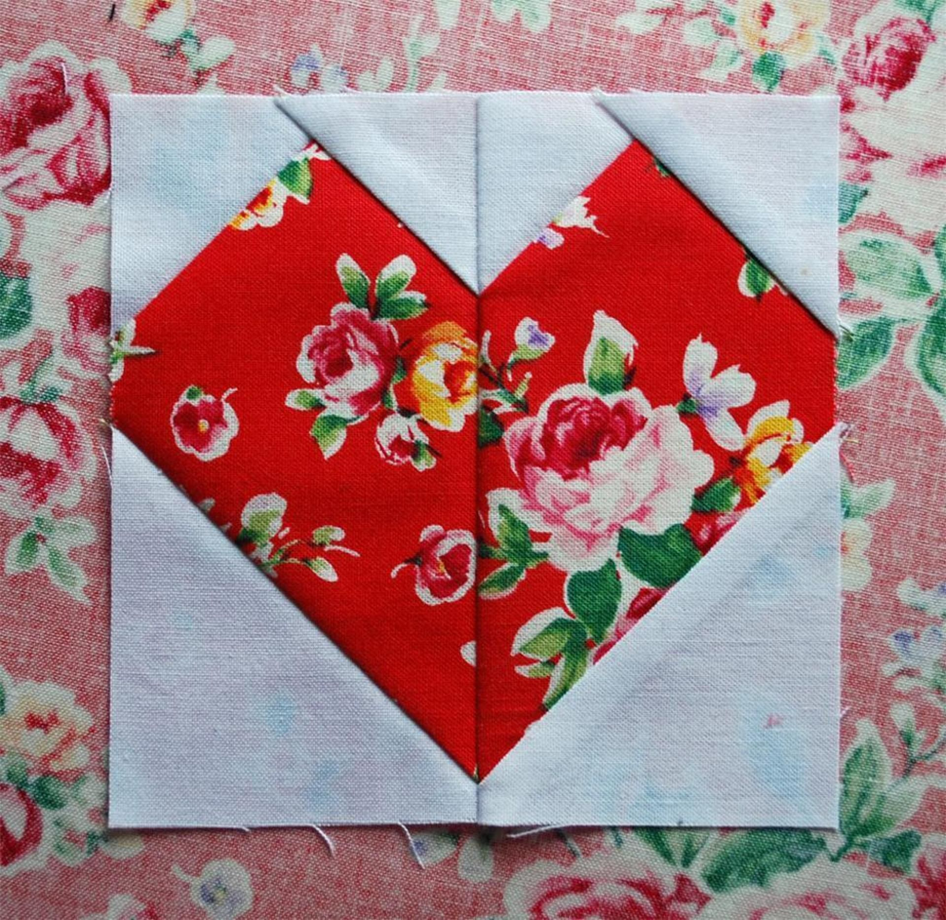 ZigZag Love Heart Quilt Pattern Heart quilt pattern Patterns and