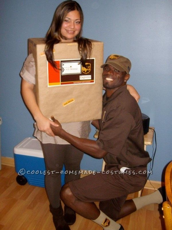 Simple creative couples costume ups guy and his package 63619 - homemade halloween costume ideas men