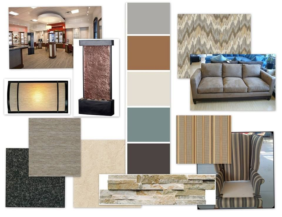 Soothing Paint Colors For Office professional office design project | soothing color palette with a