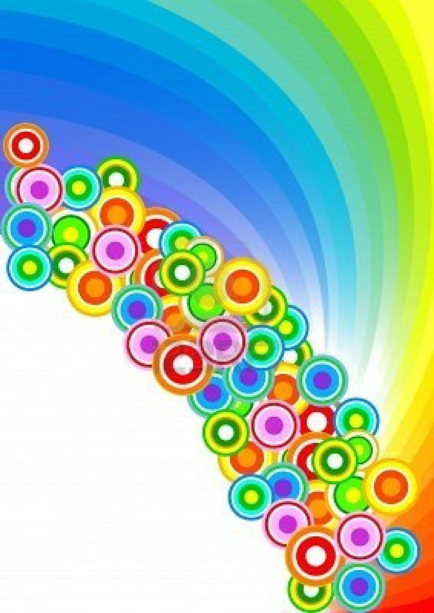 Art royalty free. Vector colorful background clip