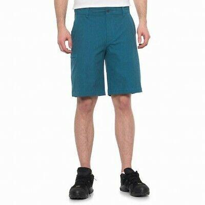 (eBay Sponsored) Weatherproof Mens Shorts Blue 38 Space Dyed Hybrid Performance Zip-Fly $65 #055