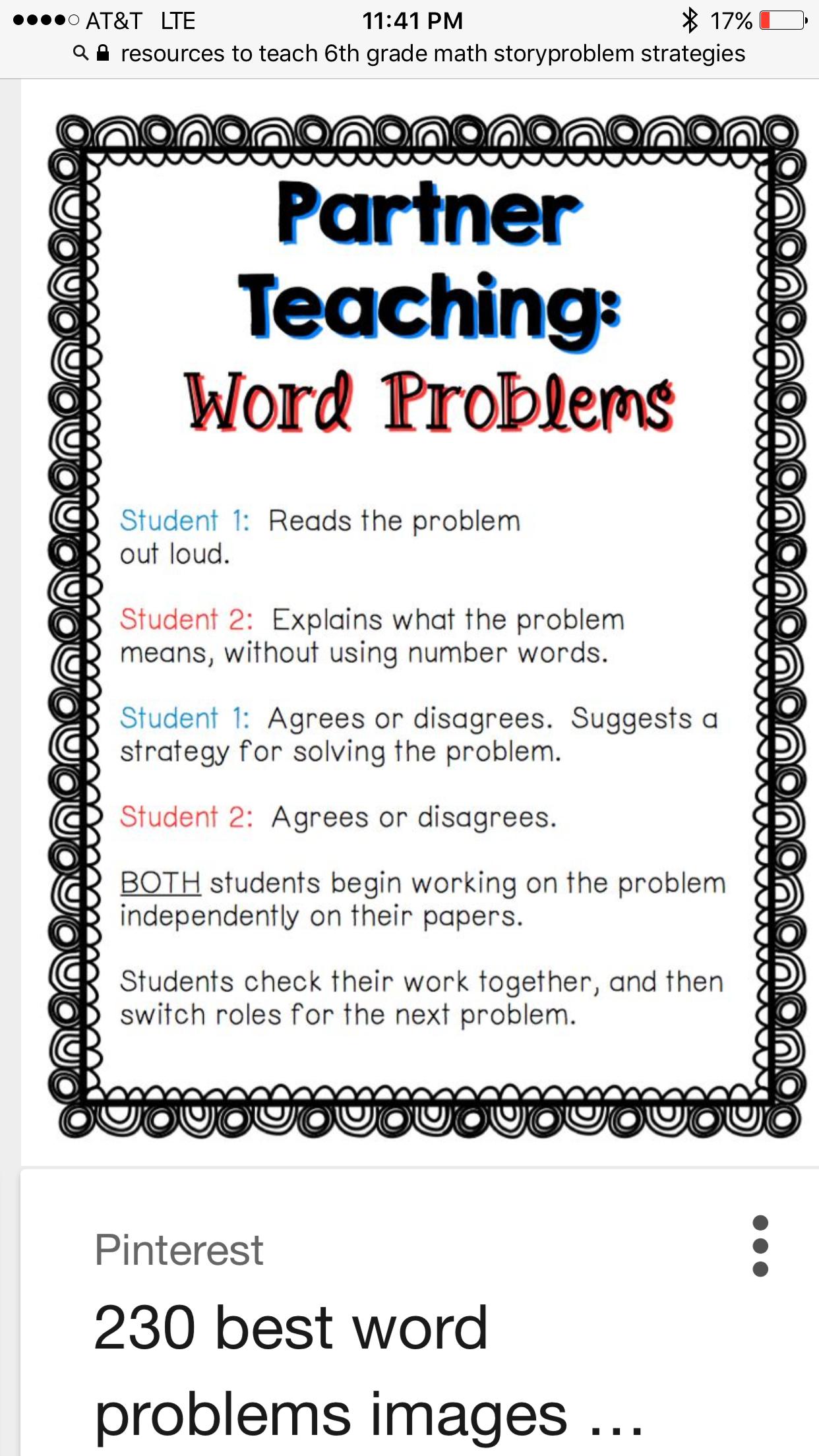 Blended classroom ops Math Resources, Math Activities, Math Words, Math  Problem Solving,