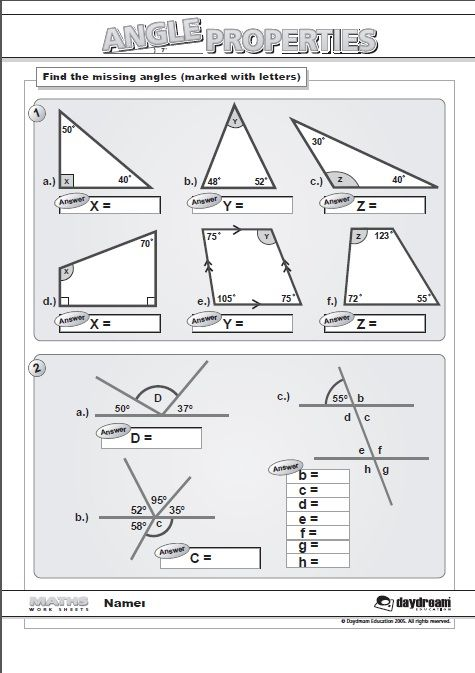 Our Maths Worksheets Are A Great Addition To Your Lessons As