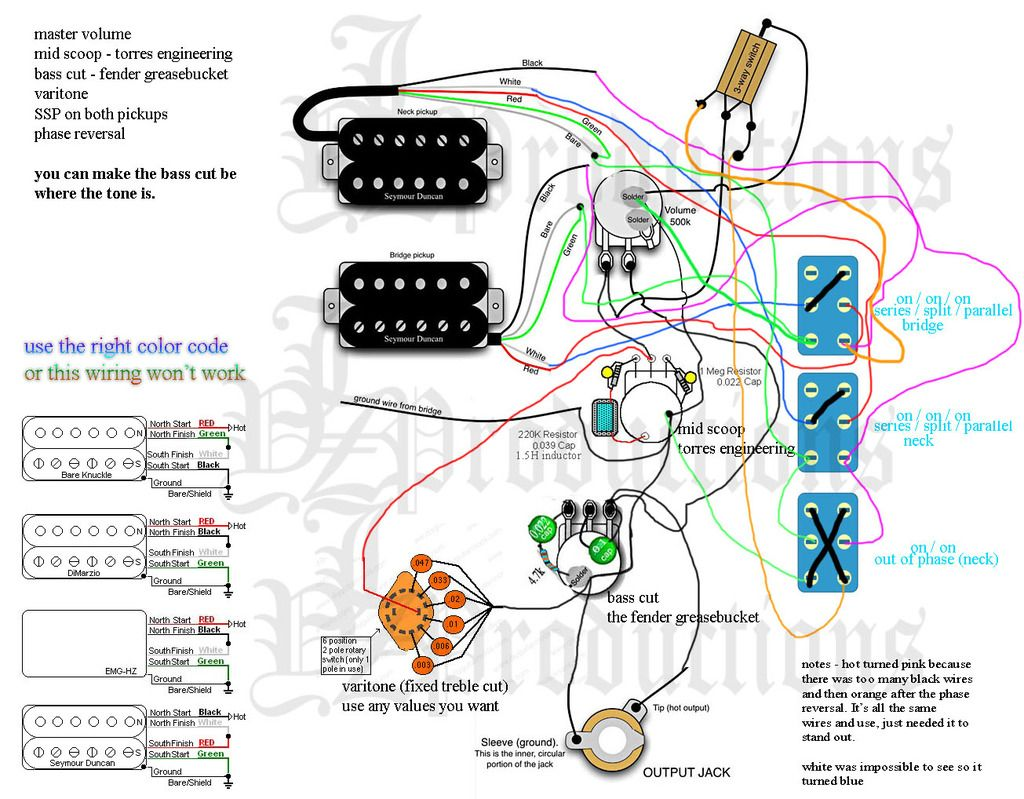 greasebucket tone circuit to com bc rich mockingbird st wiring [ 1024 x 799 Pixel ]