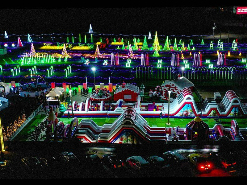 10 Holiday Lights Events in Arizona to Get You in A Jolly