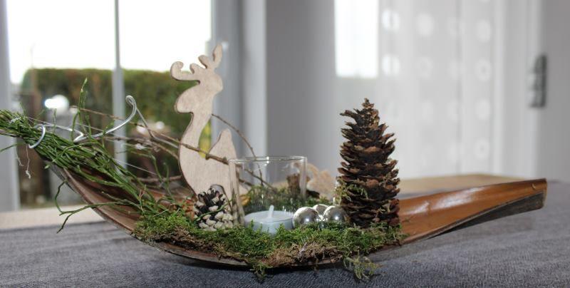 Aw53 kleine winterlandschaft als weihnachtsdeko - Winterlandschaft deko ...