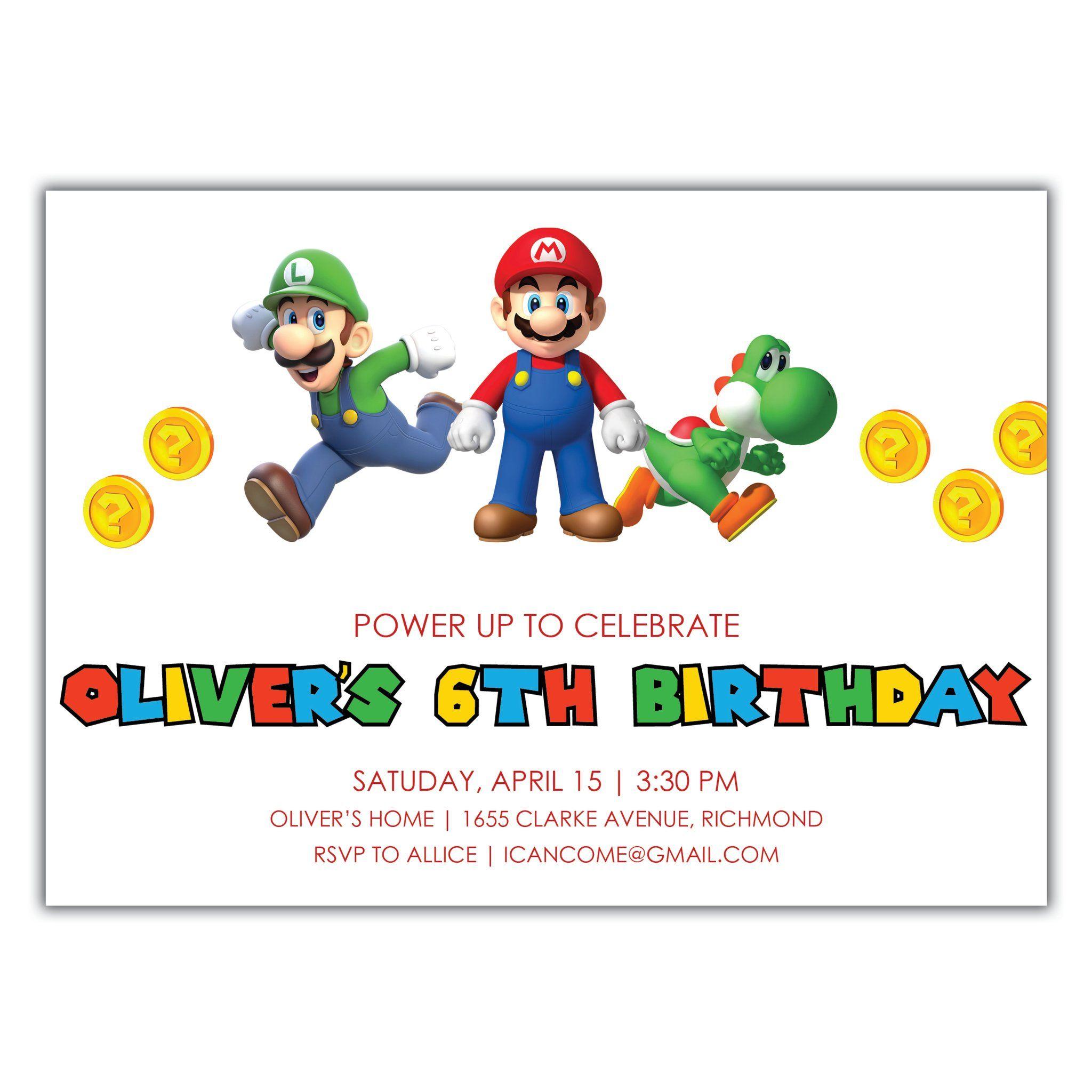 Children's Birthday Invitations in 2020 Boy birthday