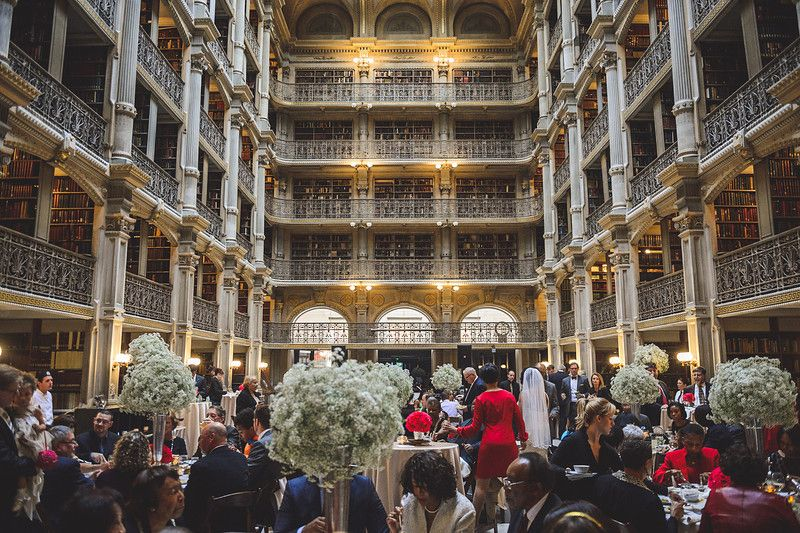 Maryland Wedding Reception George Peabody Library 1 Best Questions To Ask Your Venue