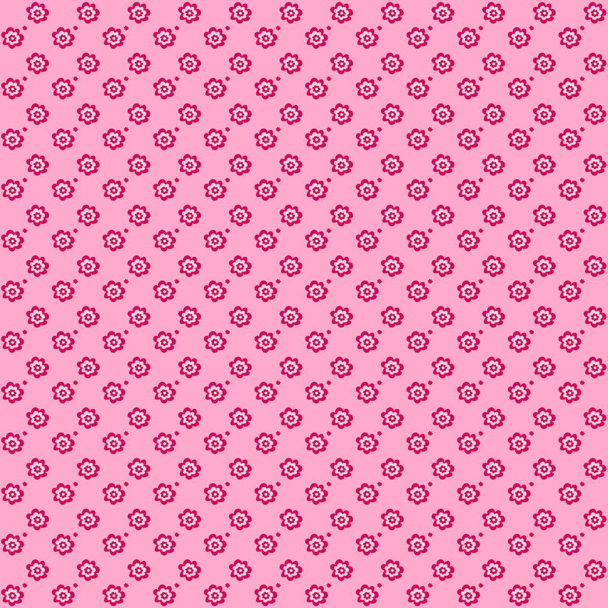Free Printable Pink Tiny Flower Pattern Paper Papers Floral