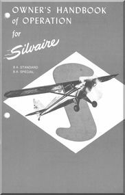 Luscombe Model Silvaire  A Standard And Special Aircraft OwnerS